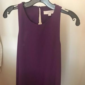 Plum Cocktail Dress